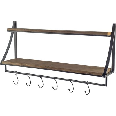 Bayliff Wall Mounted Coat Rack