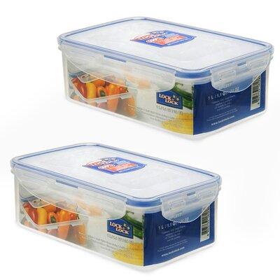 Rectangular 33.8 Oz. Food Storage Container
