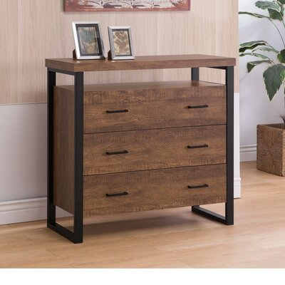 Imler 3 Drawer Accent Chest