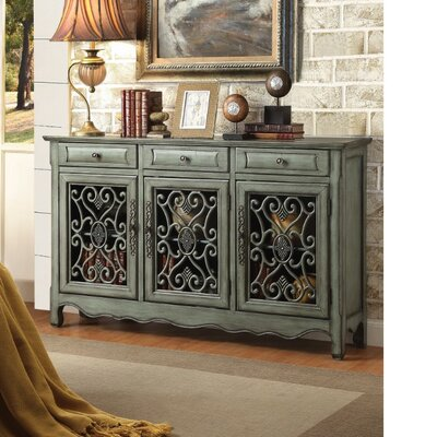 Crosswhite Traditional 3 Door Accent Cabinet