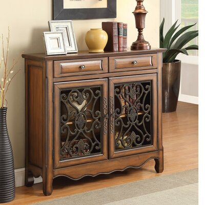 Crothers Wooden 2 Door Accent Cabinet