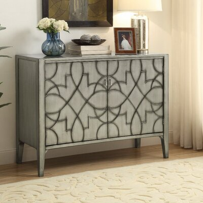 Wilkerson Wooden 2 Door Accent Cabinet