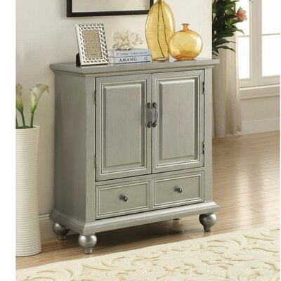 Wilkes Glamorous Metallic 2 Door Accent Cabinet