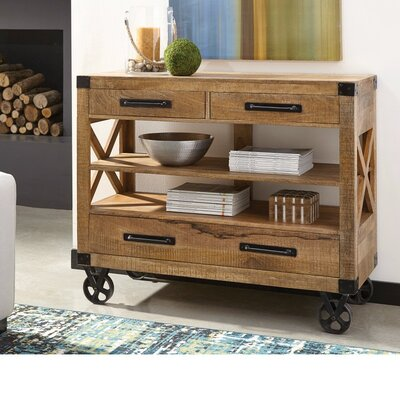 Beck Wooden 2 Drawer Accent Chest