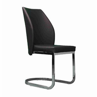 Barrier Upholstered Dining Chair Upholstery: Black