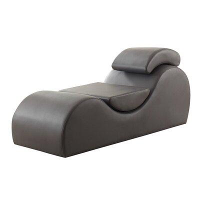 Vyunskovsky Chaise Lounge Color: Gray