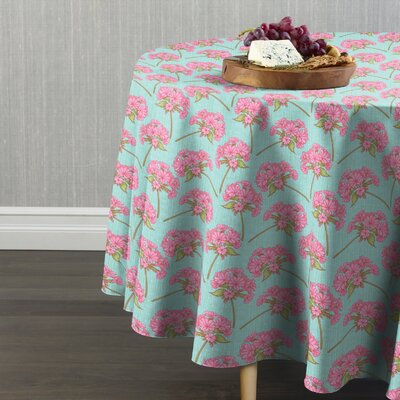 """Damien Bunches of Flowers Table Cloth Size: 90"""" W x 90"""" L"""