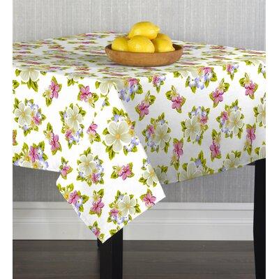 "Emilee Bouquet Table Cloth Size: 104"" W x 60"" L"