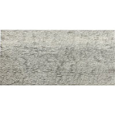 "Metro 12"" x 24"" Limestone Field Tile in Gray"