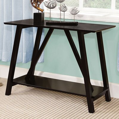 Fulghum Console Table Color: Black