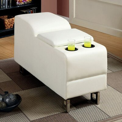 Fulks Console Table Color: White