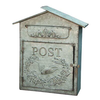 Birdhouse Wall Mounted Mailbox