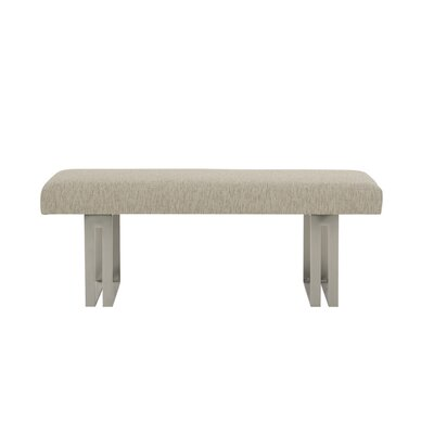 Mosaic Upholstered Bench