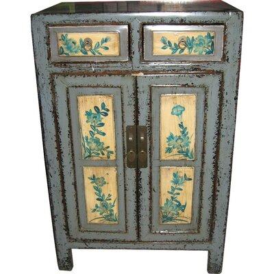 Monroe Street 2 Door Cabinet