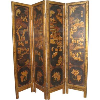 Acadian 4 Panel Room Divider