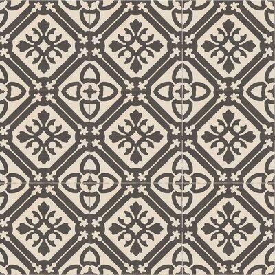 "Design Evo 8"" x 8"" Porcelain Field Tile in Beige/Brown"