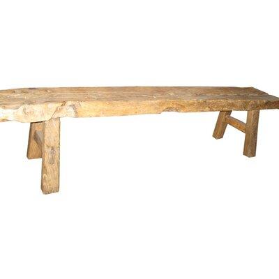Wootton Long Rustic Bench