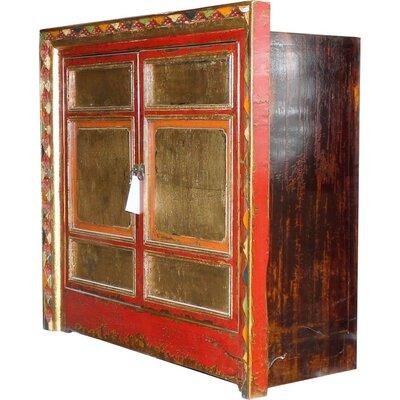 Abramowitz Tibetan 2 Door Cabinet