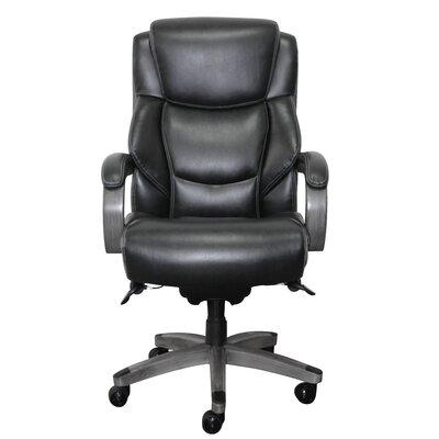 Delano Executive Chair Color: Jet Black