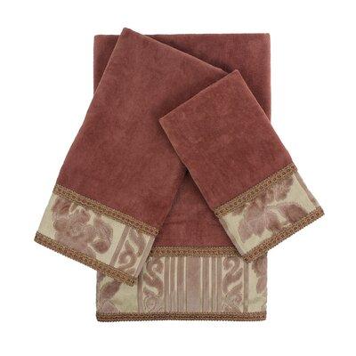 Mckenzie 3 Piece Embellished Towel Set