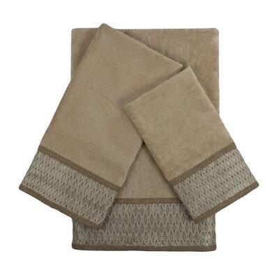 Norwich 3 Piece Embellished Towel Set