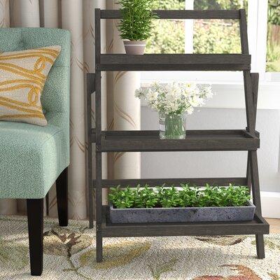 Fenimore Indoor Multi-Tiered Plant Stand Color: Dark Grey