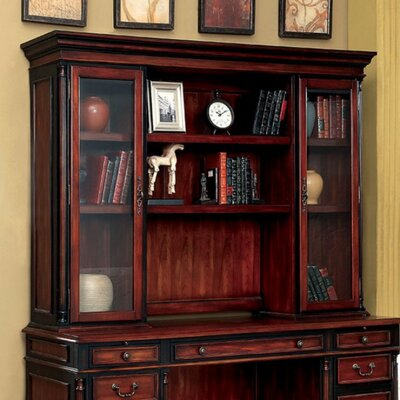 Balmer Transitional Style Desk Hutch