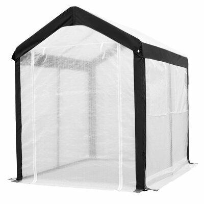 6 Ft. W x 8 Ft. D Greenhouse