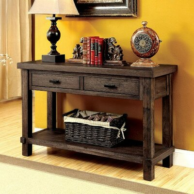Cammi Wooden Console Table