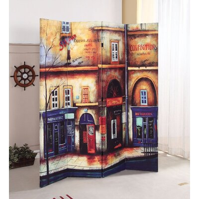 Comber Scenery 4 Panel Room Divider