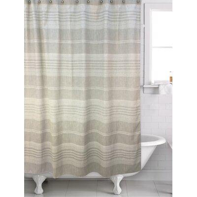 Fillion Shower Curtain Color: Beige/Gray