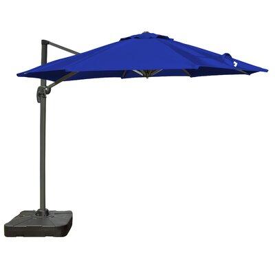 Alms 9.10' Cantilever Umbrella Fabric Color: Royal Blue