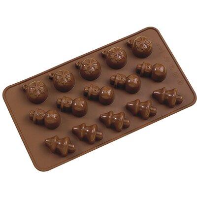 La Patisserie Non-Stick Chocolate Christmas Decorative Mold