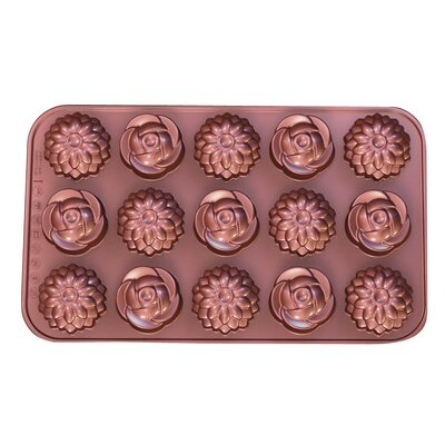 La Patisserie Non-Stick Chocolate Flower Decorative Mold