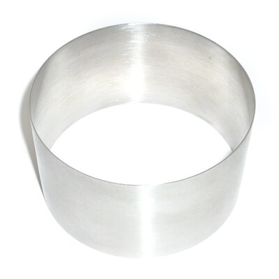 "Strauss Ring Anneau Glass Lid Size: 2.8"" H x 3.3"" W x 3.3"" D"