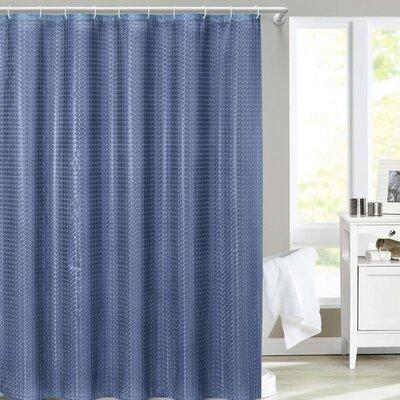 Siddiqi Shower Curtain Color: Blue