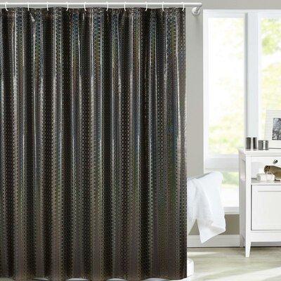 Fergerson Shower Curtain Color: Black