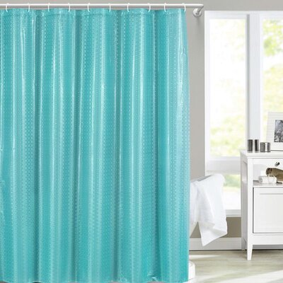 Fergerson Shower Curtain Color: Blue