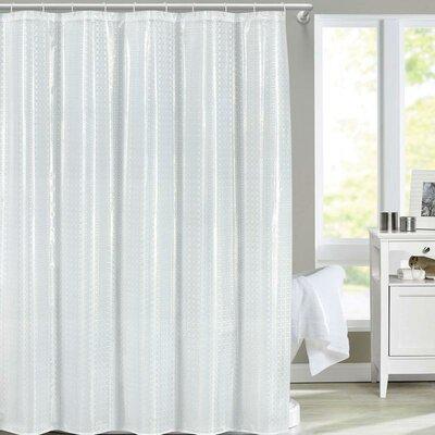 Fergerson Shower Curtain Color: White