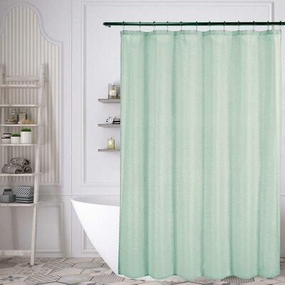 Duplantis Shower Curtain Color: Seafoam