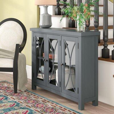 Sierra Madre 3 Door Accent Cabinet Color: Egg Blue