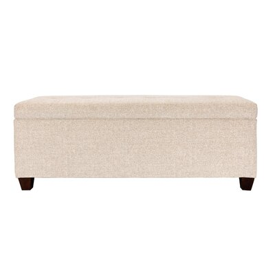 Lamanna Upholstered Storage Bench Color: Camel