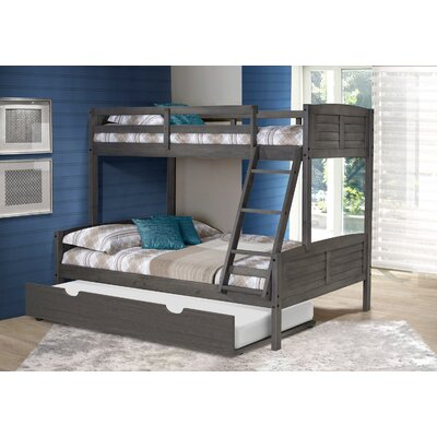 Bladon Twin Over Full Bunk Bed with Twin Trundle