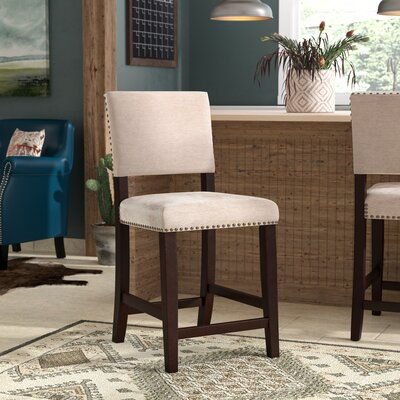 """Boyabat Bar & Counter Stool Seat Height: Counter Stool (24"""" Seat Height), Color: Natural"""