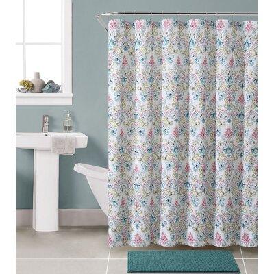 Gallager Shower Curtain Set Color: Marlene Multi