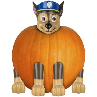 Pumpkin Push in Chase Police Pup Nick Inflatable
