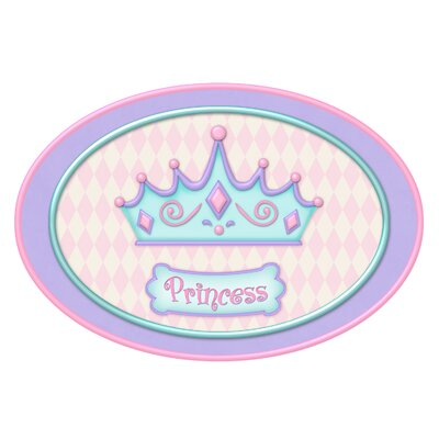 Barten Princess Camryn's Crown Bath Rug