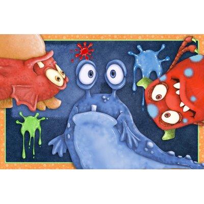 Kliebert Monster Splat Bath Rug