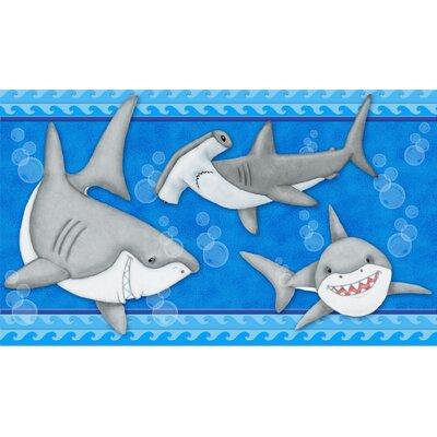 Klimek Fish 'N Sharks Bath Rug