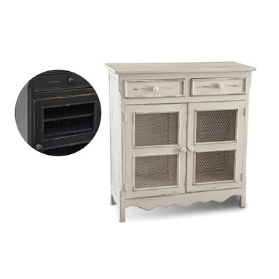 Huneycutt 2 Drawer Accent Cabinet